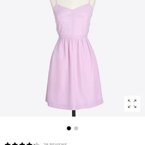 J. Crew Cami fit and flare dress